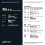 USA Timetable
